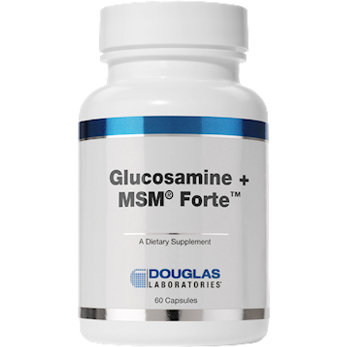 Glucosamine + MSM Forte by Douglas Laboratories 60 capsules