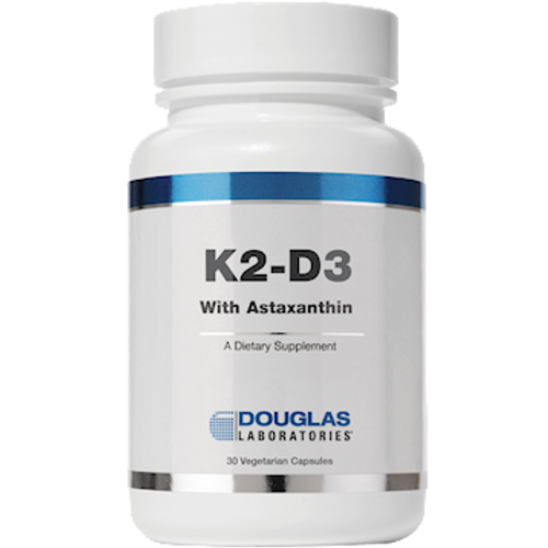 K2-D3 with Astaxanthin by Douglas Laboratories 30 capsules