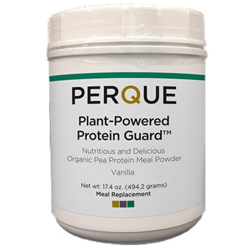 Plant-Powered Protein Guard Vanilla by Perque 17.4 oz