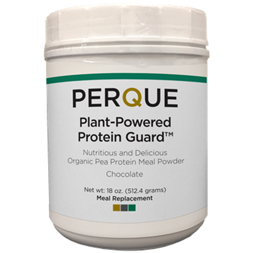 Plant-Powered Protein Guard Chocolate by Perque 18 oz
