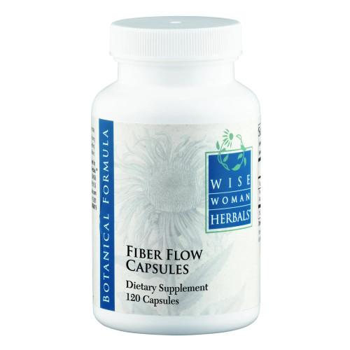 Fiber Flow Capsules by Wise Woman Herbals 120 capsules