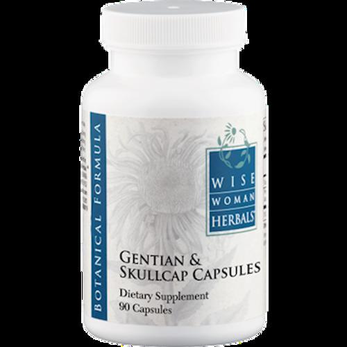 Gentian & Skullcap Capsules by Wise Woman Herbals 90 capsules