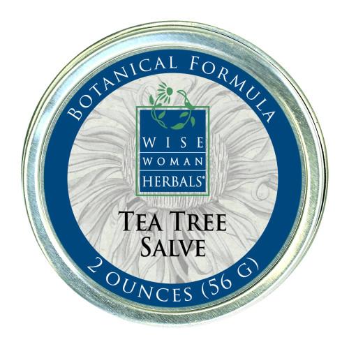 Tea Tree Salve by Wise Woman Herbals 2 oz