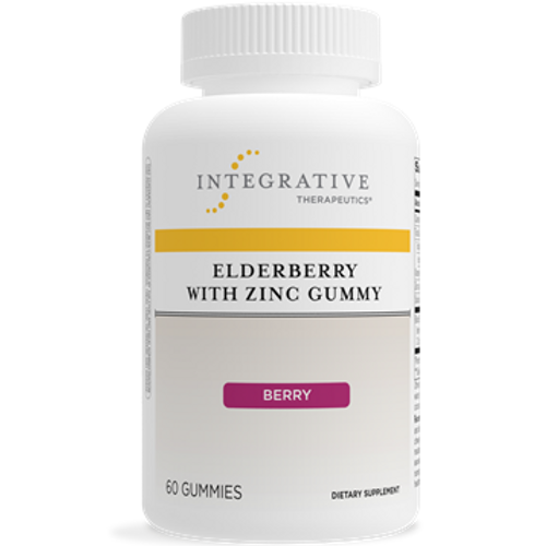 Elderberry with Zinc Gummy by Integrative Therapeutics 60 Gummies