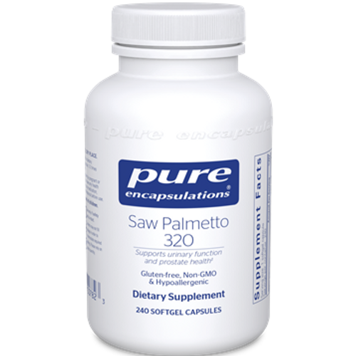 Saw Palmetto 320 by Pure Encapsulations 240 softgels