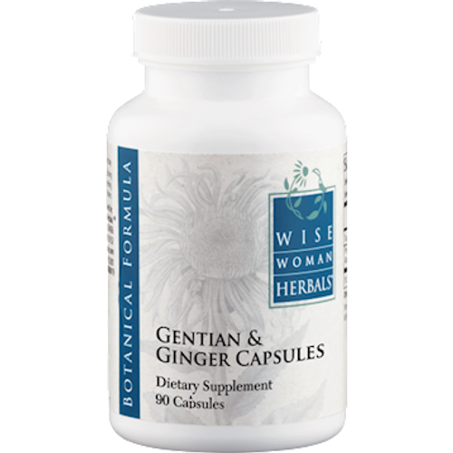 Gentian & Ginger Capsules by Wise Woman Herbals 90 capsules