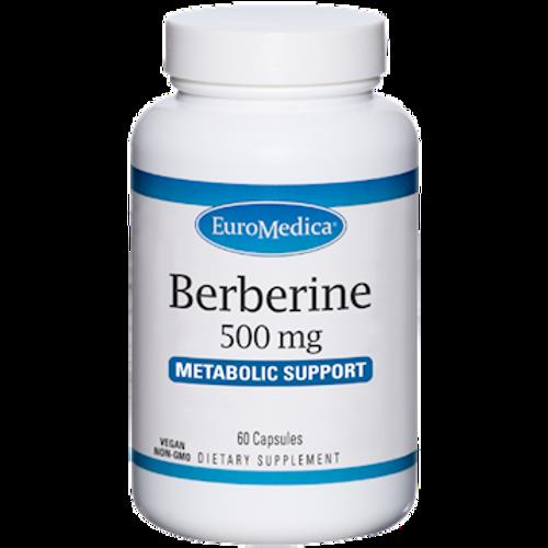 Berberine 500mg by EuroMedica 60 capsules