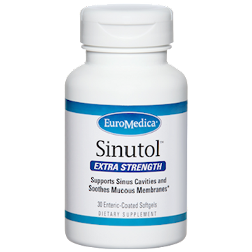 Sinutol Extra Strength by EuroMedica 30 softgels