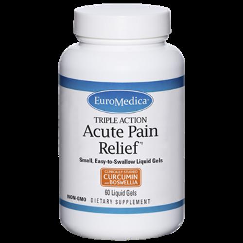 Acute Pain Relief by EuroMedica 60 liquid gels