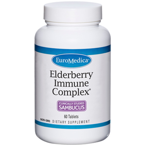 Elderberry Immune Complex by EuroMedica 60 tablets