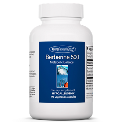 Berberine 500 by Allergy Research Group 90 capsules