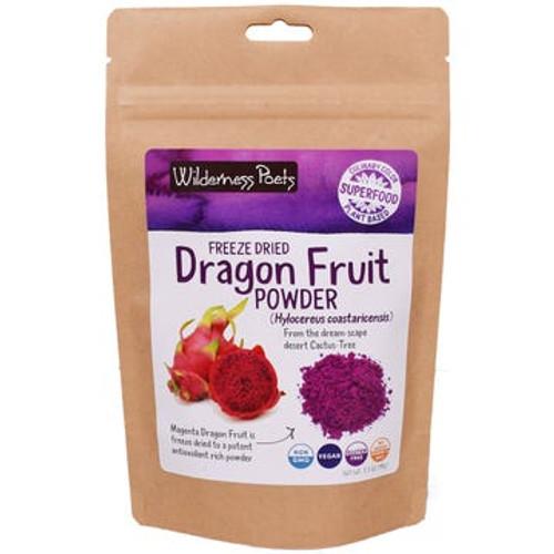 Wilderness Poets - Dragon Fruit Powder - Case of 6 - 3.5 oz