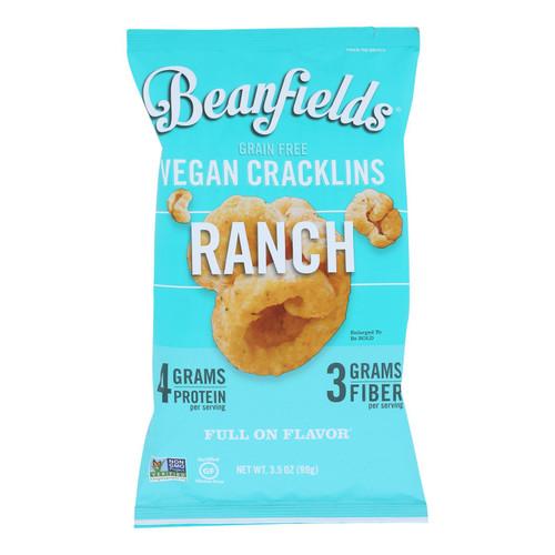Beanfields - Cracklins Ranch - Case Of 6 - 3.5 Oz