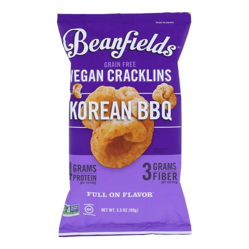 Beanfields - Cracklins Korean Bbq - Case Of 6 - 3.5 Oz