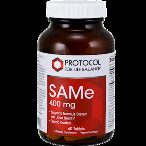 SAMe 400mg by Protocol For Life Balance 60 tablets