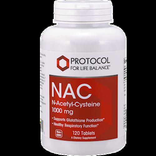NAC 1000mg by Protocol For Life Balance 120 tabs