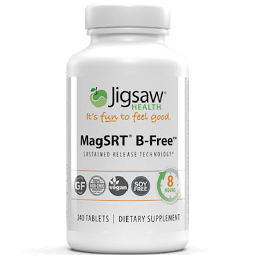 Magnesium w/SRT Time Release Magnesium (B-Free) by Jigsaw Health 240 tablets