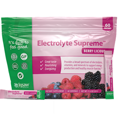 Electrolyte Supreme Berry-Licous by Jigsaw Health 60 Packets