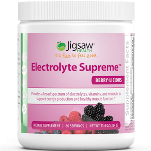 Electrolyte Supreme Berry-Licous Jar by Jigsaw Health 60 servings