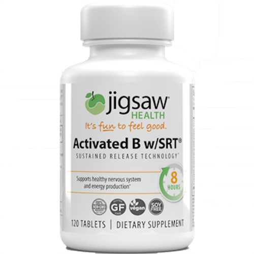 Activated B w/SRT by Jigsaw Health 120 tablets