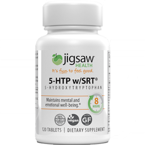 5-HTP w/SRT by Jigsaw Health 120 tablets