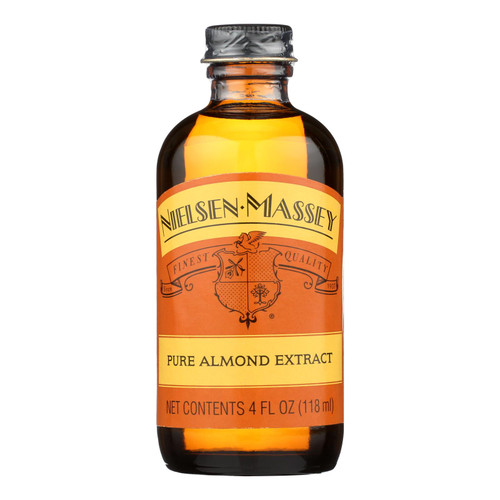 Nielsen-massey Pure Almond Extract  - Case Of 8 - 4 Fz