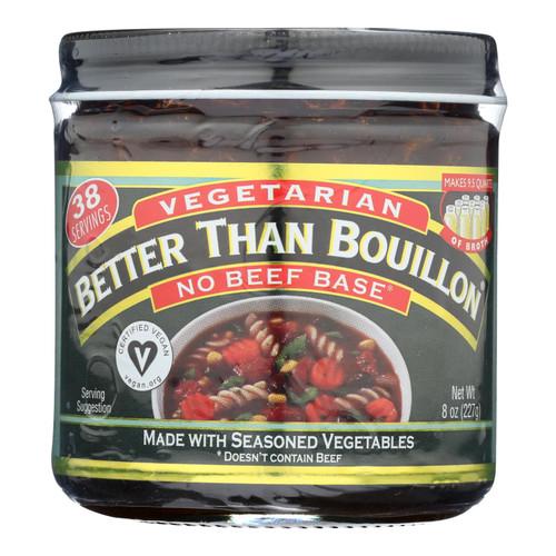 Better Than Bouillon Vegan Base - No Beef - Case Of 6 - 8 Oz