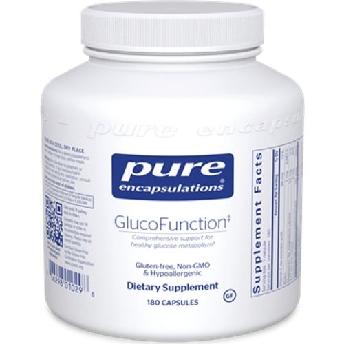 GlucoFunction by Pure Encapsulations 180 capsules