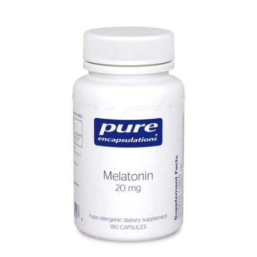 Melatonin 20mg by Pure Encapsulations 180 capsules