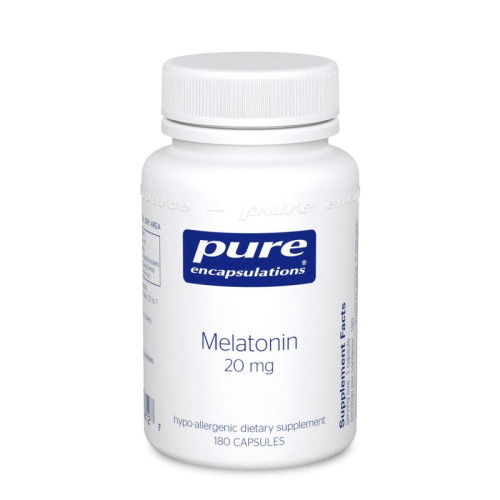 Melatonin 20mg by Pure Encapsulations 60 capsules