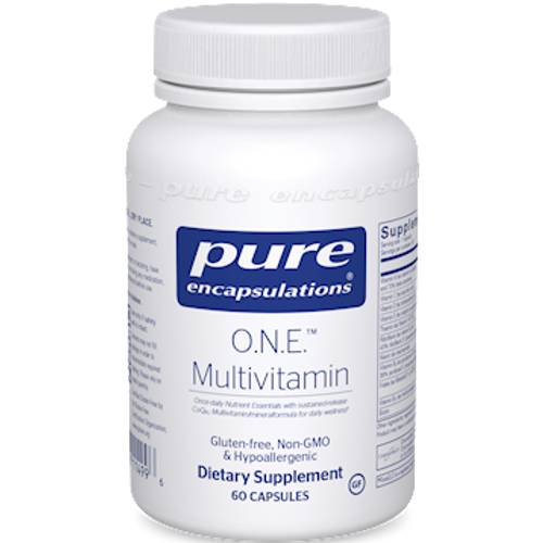 O.N.E. Multivitamin by Pure Encapsulations 60 capsules