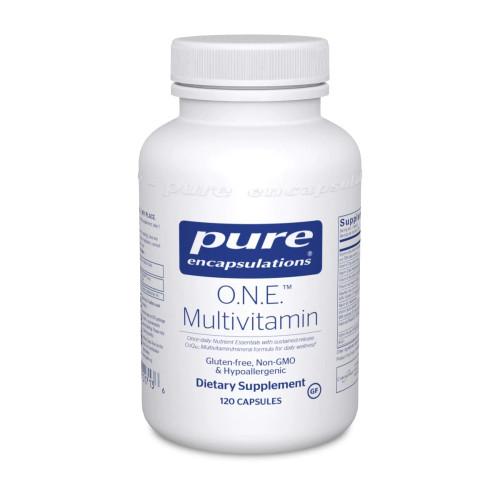 O.N.E. Multivitamin by Pure Encapsulations 120 capsules
