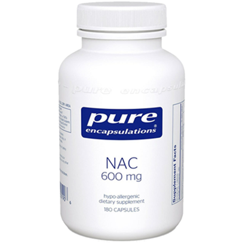 NAC 600mg by Pure Encapsulations 180 capsules