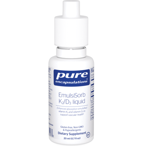 EmulsiSorb K2/D3 liquid by Pure Encapsulations 20ml