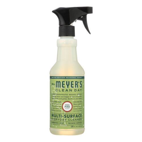 Mrs. Meyer's Clean Day - Multi-surface Everyday Cleaner - Iowa Pine - 16 Fl Oz.