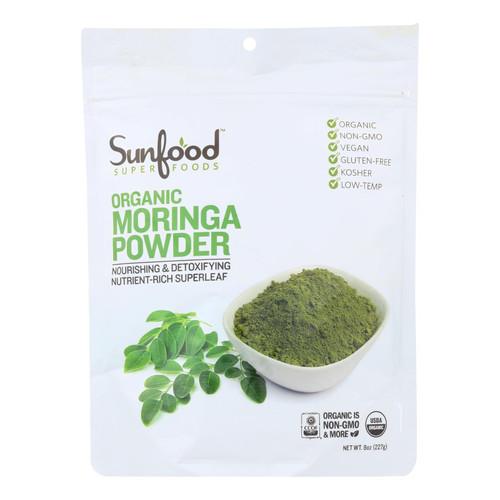 Sunfood Superfoods Organic Moringa Powder - 1 Each - 8 Oz