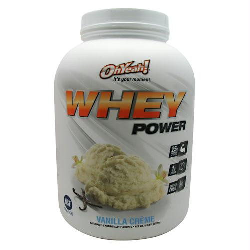 ISS Research Oh Yeah! Whey Power Vanilla Creme - Gluten Free