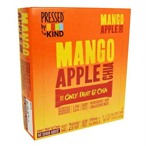 Kind Snacks Pressed Bar Mango Apple Chia - Gluten Free