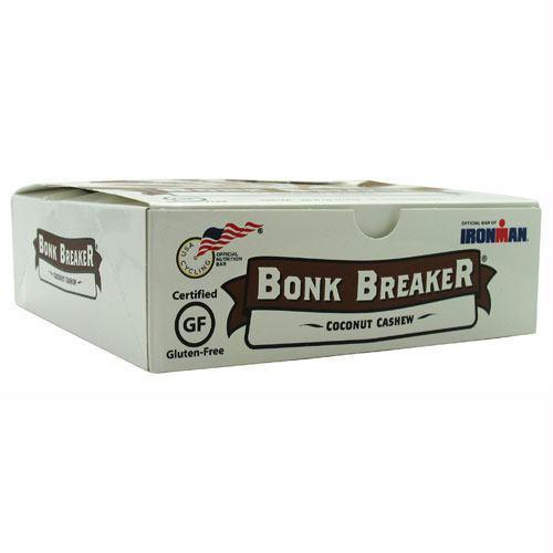 Bonk Breaker Energy Bar Coconut Cashew - Gluten Free