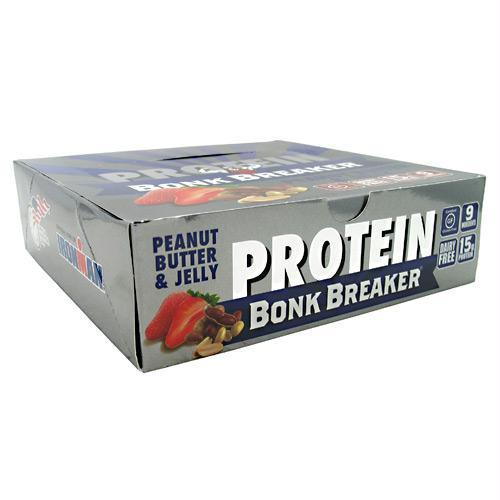 Bonk Breaker Nutrition+ Bar Peanut Butter & Jelly - Gluten Free