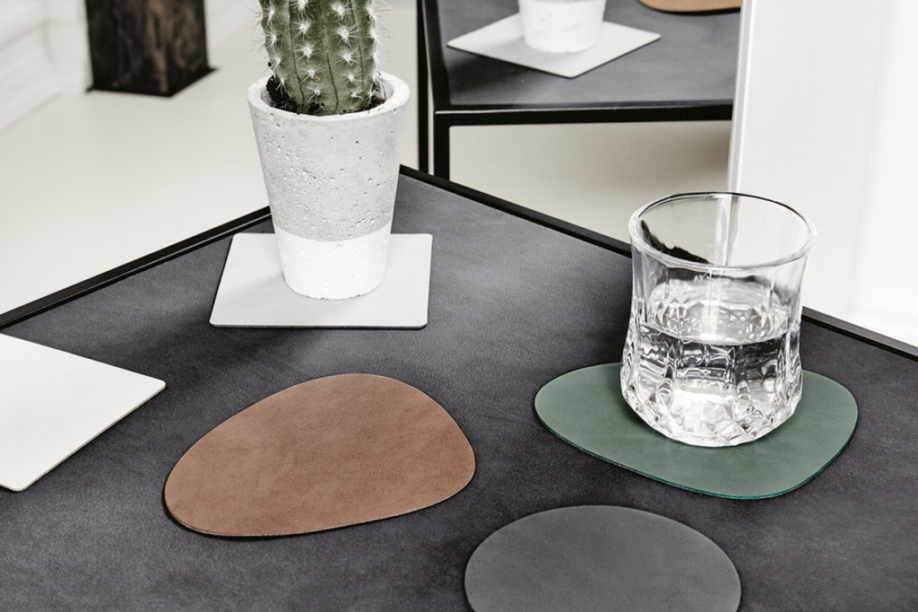 LIND DNA - CURVE GLASS MAT - DARK BLUE