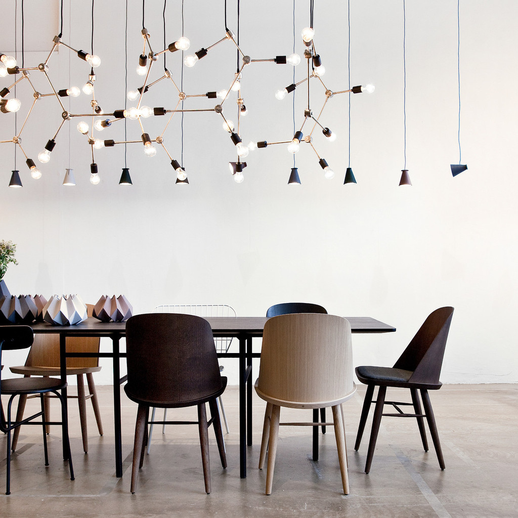 MENU - FRANKLIN CHANDELIER BLACK