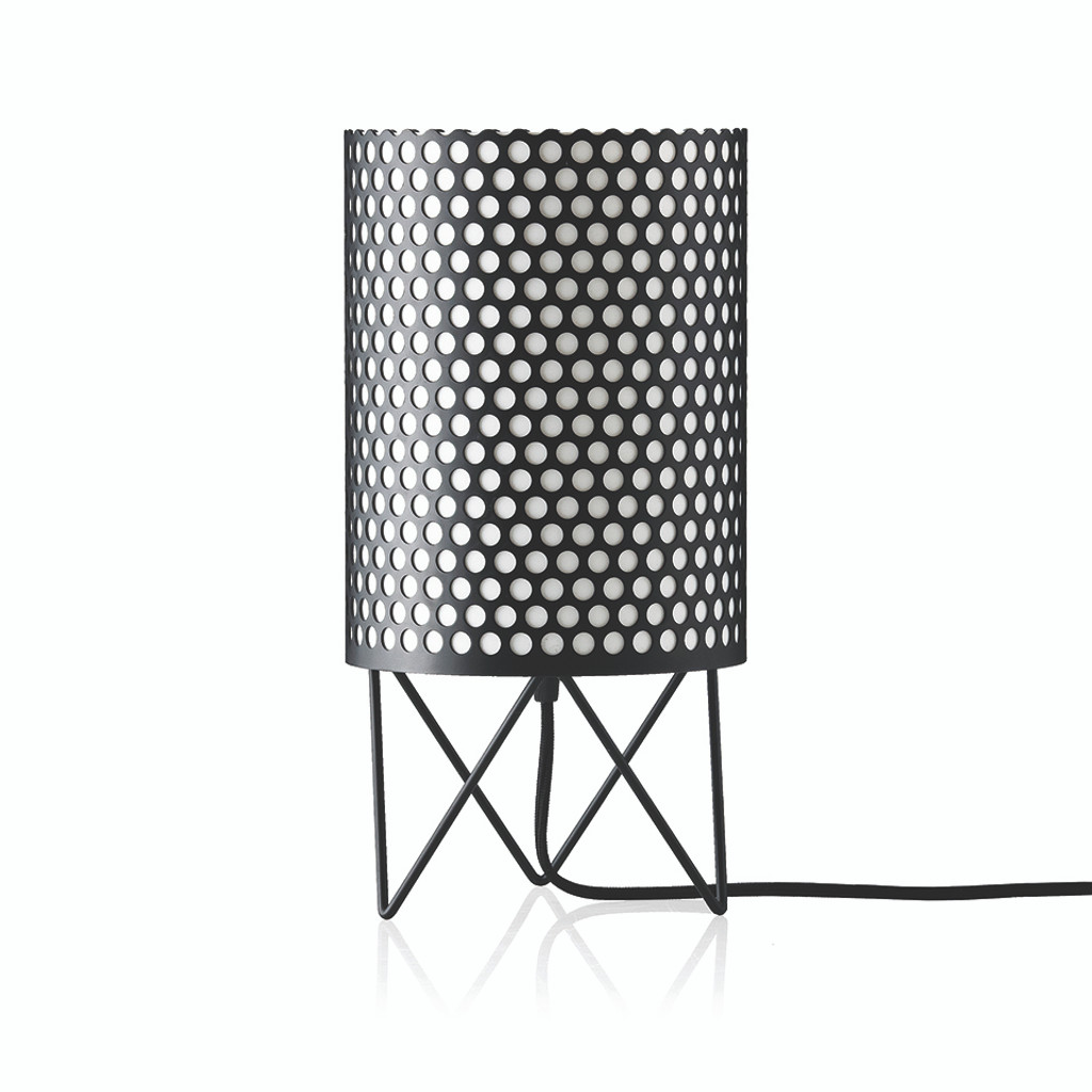 GUBI - ABC TABLE LAMP BLACK