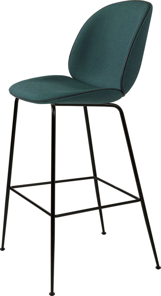GUBI - BEETLE BAR CHAIR UPHOLSTERED (VARIOUS COLOURS)