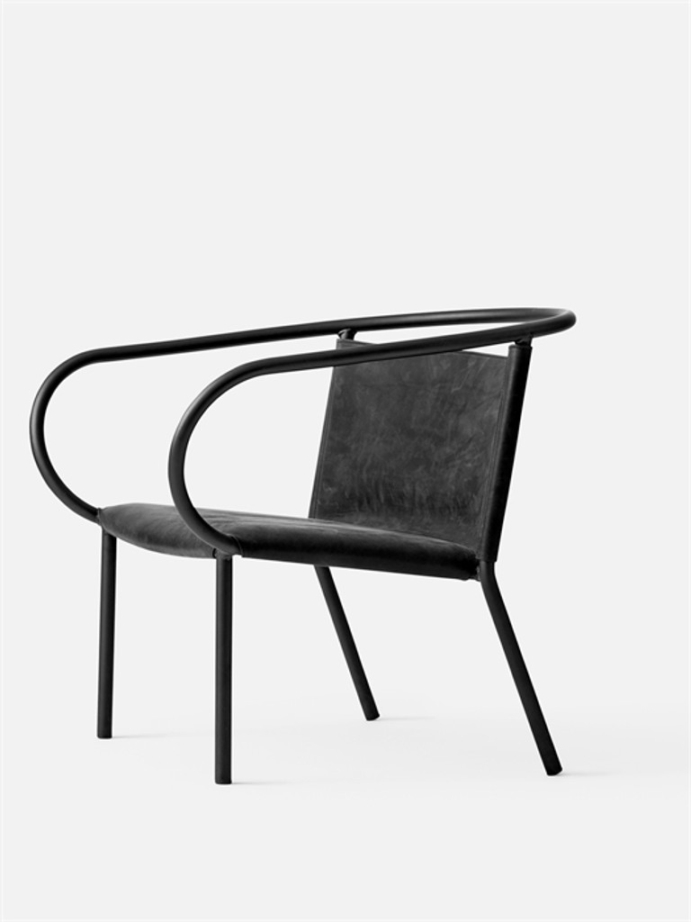 MENU - AFTEROOM LOUNGE CHAIR BLACK
