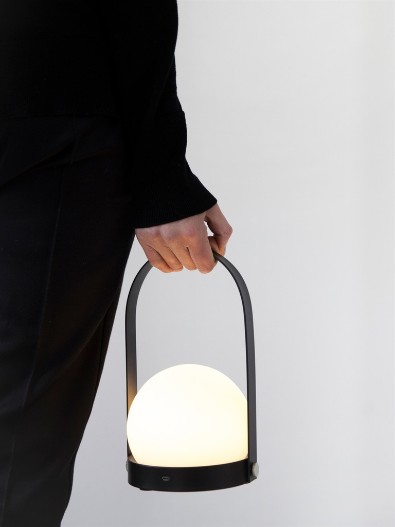 MENU - CARRIE LED LAMP - BRUSHED BRASS