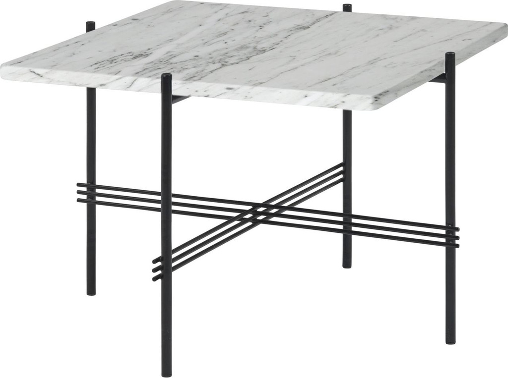 GUBI - TS COFFEE TABLE SQUARE - WHITE MARBLE (3 SIZES)