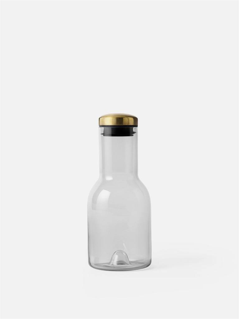 MENU - WATER BOTTLE 0.5L - SMOKE/BRASS LID