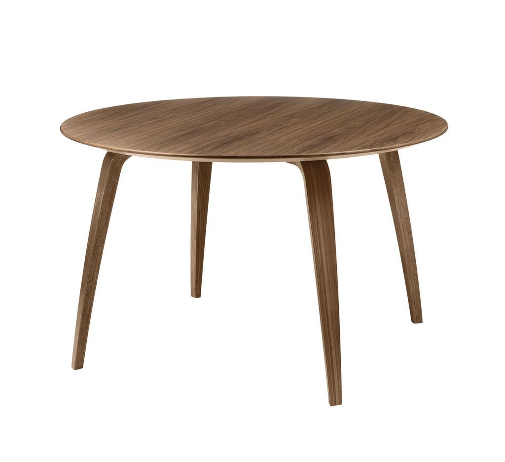 GUBI - DINING TABLE ROUND WALNUT