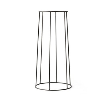 WIRE PLANT STAND IN BLACK - LARGE